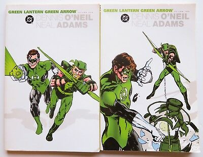 Green Lantern Green Arrow Vol. 1 & 2 NEW DC Comics Graphic Novel Comic Book Lot