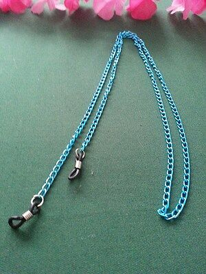 NEW  Adult Glasses Chain Read Glasses Sunglasses Chain Blue  Hand Made