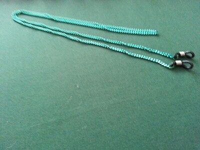 NEW  Adult Glasses Chain Read Glasses Sunglasses Chain Green  Hand Made