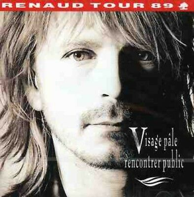 Renaud - Visage Pale Rencontrer Public (CD Used Like New)