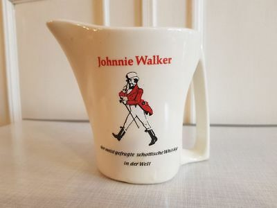 Johnnie Walker Keramik Krug, Whisky, Whiskey, Wasser Pitcher, Karaffe K23