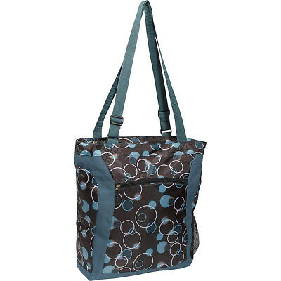 Everest Deluxe Utility Laptop Tote - Teal Blue Women's Business Bag NEW