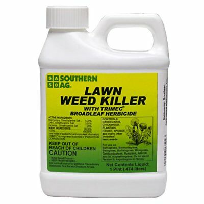 Southern Ag Lawn Weed Killer with Trimec, 16oz 1 Pint NEW, Free Shipping
