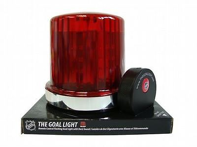 Fan Fever 992083 NHL The Goal Light and Horn with 30 Team Labels Red