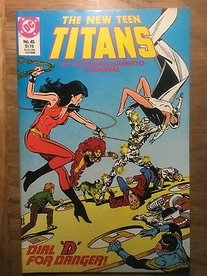 The New Teen Titans - DC #45 July 1988