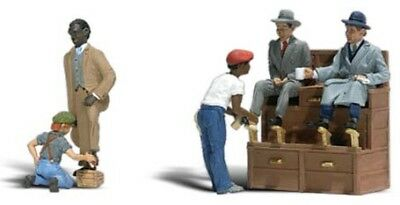 Woodland Scenics N Scale Scenic Accents Figures/People Set Shoe Shiners