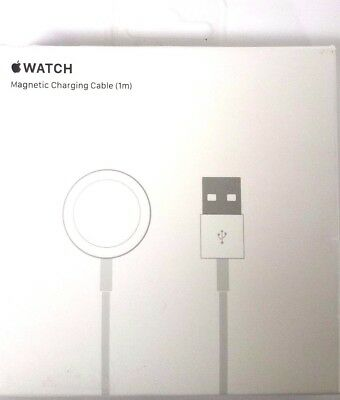 Apple Watch Magnetic Charging Cable MKLG2AM/A 1m /3.3ft White Genuine