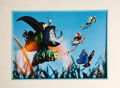 Bugs Life - RARE 17x14 Lithograph from Disney Store Collection - Walt Disney