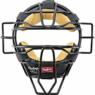 Rawlings PWMX Face Mask Black Catcher's Protection Protective Gear Baseball Team