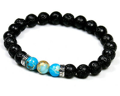 Surfer Tribal Style Natural Gemstone Chakra Healing Crystal Bead Bracelet Wrap