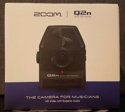 ZOOM Q2n High Definition Handy Video Recorder - The Video Recorder for Musicians