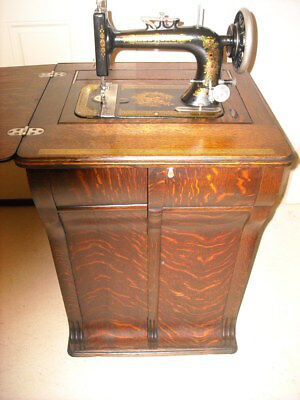 1917 Hew Home Sewing Machine - Parlor Cabinet