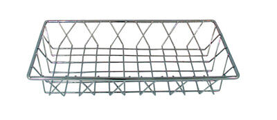 Update PB-146 14in x 6in x 2in Chrome Plated Pastry Basket