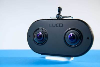 LucidCam: World's First True Virtual Reality 3D 4K Camera Captures Life from You