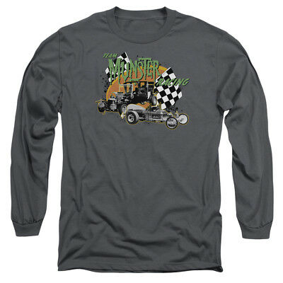 Munsters TV Show TEAM MUNSTER RACING Licensed T-Shirt All Sizes