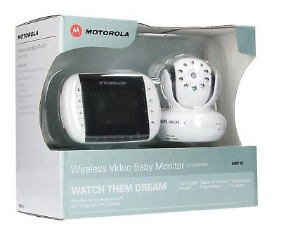 Motorola MBP33 Wireless Video Baby Monitor - For Parts