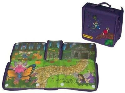 Constructive Eating Transforming Garden Fairy Lunch Tote Large Placemat