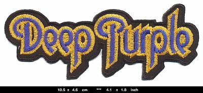 DEEP PURPLE Aufnäher Aufbügler Band Patches Blues Rock England BLITZVERSAND