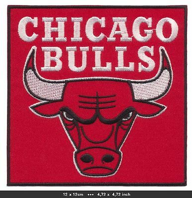CHICAGO BULLS Aufnäher Aufbügler Patches Basketball USA NBA BLITZVERSAND