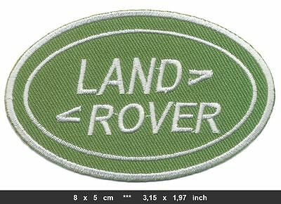 LAND ROVER Landrover Aufnäher Patch Auto 4x4 4WD Defender Discovery BLITZVERSAND