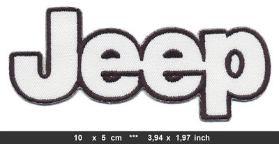 JEEP Aufnäher Patches Auto cars USA Wrangler Cherokee Offroad BLITZVERSAND