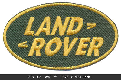 LAND ROVER Landrover Aufnäher Patches Auto Jeep Defender Discovery BLITZVERSAND