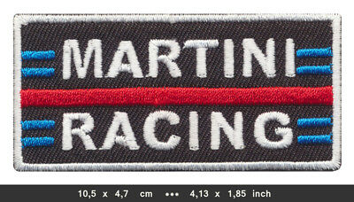 MARTINI Aufnäher Patches Vintage Racing Team Motorsport MTR-01 BLITZVERSAND