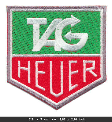 TAG Heuer Aufnäher Patches Motorsport Formel 1 F1 Racing Team BLITZVERSAND