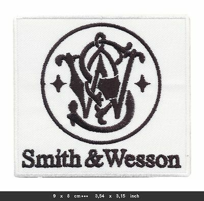 SMITH WESSON Aufnäher Patches Waffen Guns Pistolen Colt Magnum BLITZVERSAND