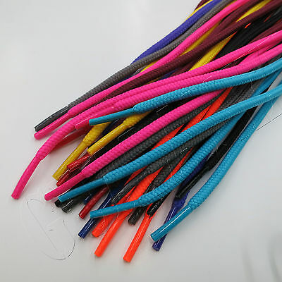 "3/16"" Round Athletic Shoelaces Sport Sneakers Shoe Laces Neon Colors Strings"