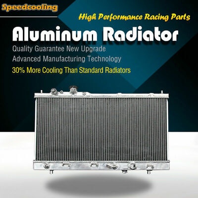 2303 2 Row Aluminum Radiator For Mazda Protege DX ES LX MP3 L4 99-03