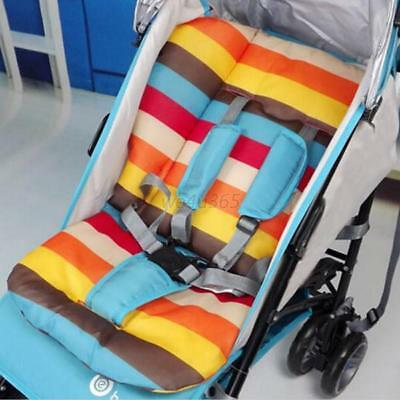 Rainbow Baby Stroller Cushion Liner Infant Pushchair Pad Cover Mat Seat Cushion