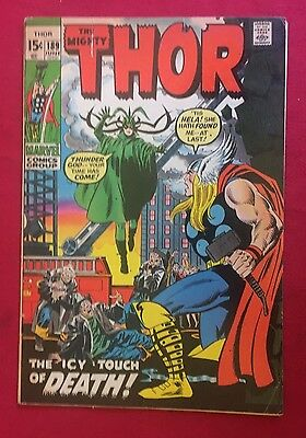 Thor #189 (Jun 1971, Marvel) VG- Hela cover