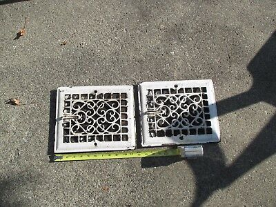 Reclaimed Vintage Antique  Wall Mount House Register Vents . As found