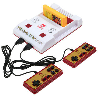 8 Bit Video TV Classic Game Console D99 + 2 Game Player Controllers Nes Card AU