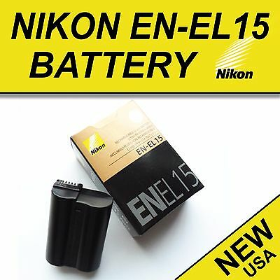 NEW EN-EL15 Battery for Nikon D600 D610 D750 D7100 D7200 D800 D810 V1