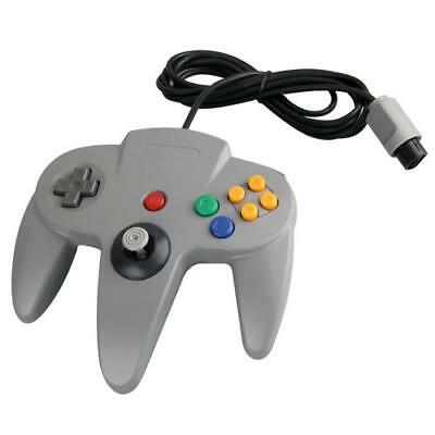 CLASSIC WIRED CONTROL GAME PAD JOYPAD JOYSTICK FOR NINTENDO 64 N64 VIDEO Gray