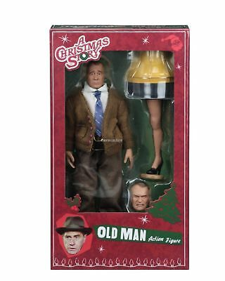 """A Christmas Story - 8"""" Scale Clothed Action Figure – Old Man- NECA"""