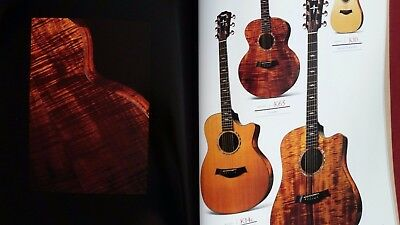 "Taylor Guitars Catalog Book 1998  8""x12.5"" Color"