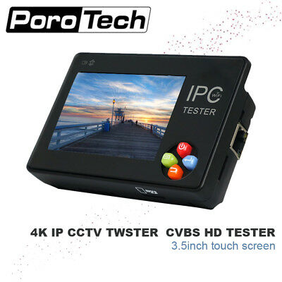 IPC-1600plus 3.5 Inch Touch screen 4K IP CCTV Tester Monitor CVBS HD 1080P Came