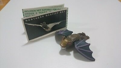 "Cadbury Yowies AU Series 1 RARE ""White Spot"" Proto Pins Northern Mastiff Bat"