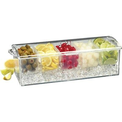 (1, Off-white) - Prodyne Condiments-on-Ice Tray. Shipping Included