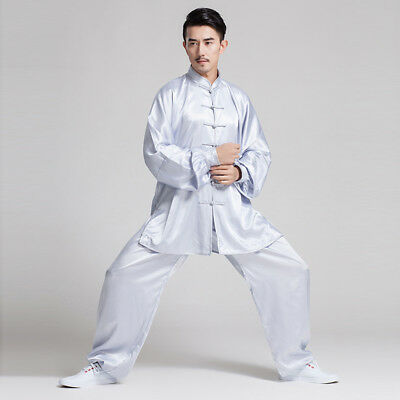 Chinese Kung Fu Tai Chi Uniform Women Man Martial Arts Clothing WuShu Taiji Suit