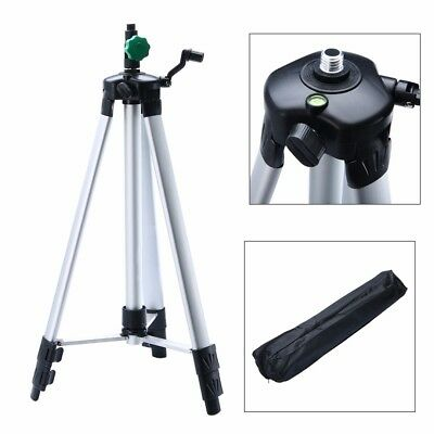 Universal 1.5M Adjustable Alloy Tripod Stand Extension For Laser Air Level +Bag