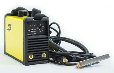ESAB Buddy ARC 180 Welding Machine 180Amp MMA IGBT Inverter 0700300680 TIG