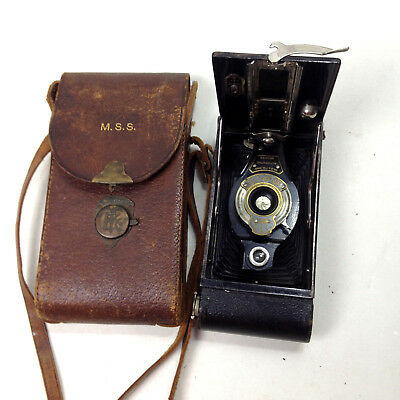 VINTAGE NO. 2A FOLDING AUTOGRAPHIC BROWNIE Large Old Camera For repair