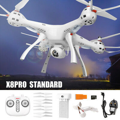 GPS SYMA X8PRO FPV Wifi HD Camera One Key Return RC Quadcopter Drone with Hover