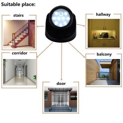 Indoor Outdoor Garden Motion Sensor Security Led 360° Battery Operated Light New