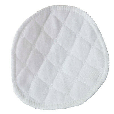 20 pcs Ultra Comfort Breast Pads Washable Extra absorbent cotton Baby White J9R8