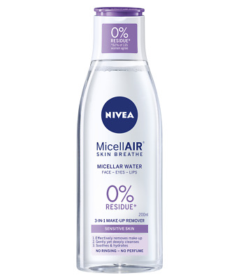 NIVEA 3 IN 1 Micellar Water Sensitive Skin 200ml